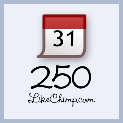 250 Facebook Event Attendees!